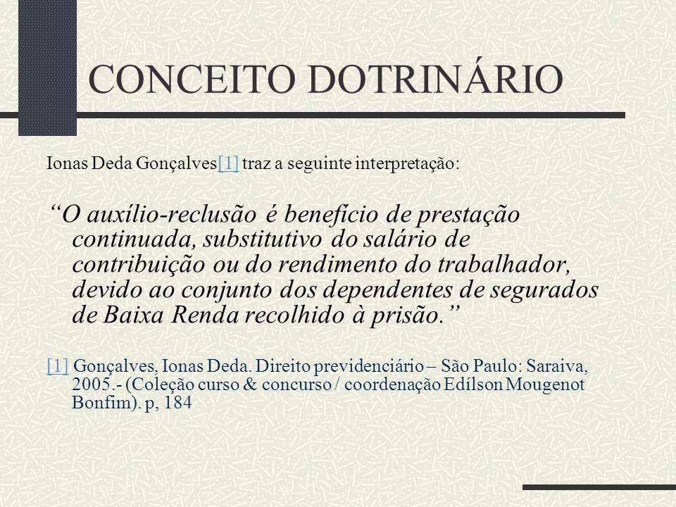 CONCEITO DOTRINÁRIO Ionas Deda Gonçalves[1] traz a seguinte interpretação: